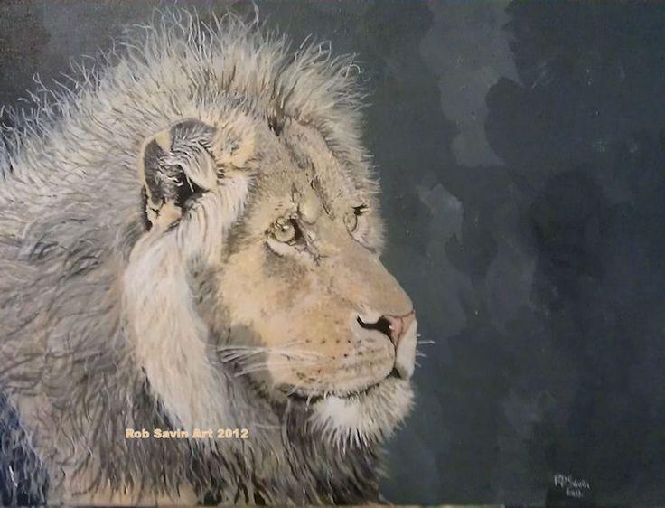 """""""Jelani"""" Acrylic on canvas. Painted 2012"""