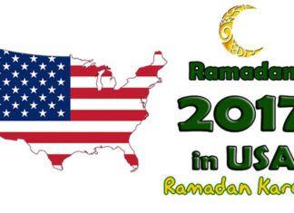 USA Sehri – Iftar Partys Prayer Fasting Timings Calendar Wishes 2017 New York, NJ, TX