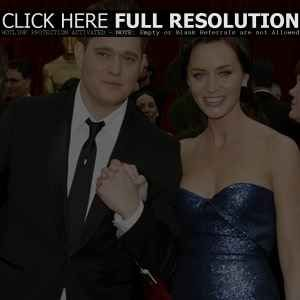 Michael Bublé - Emily Blunt and Michael Buble
