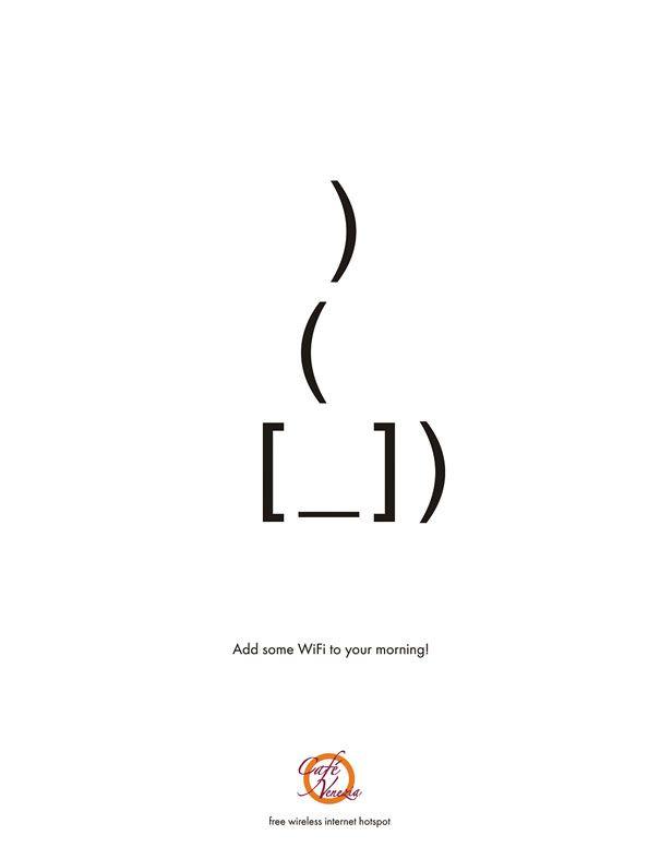 Anúncios Minimalistas Brilhantes | Criatives | Blog Design, Inspirações, Tutoriais, Web Design