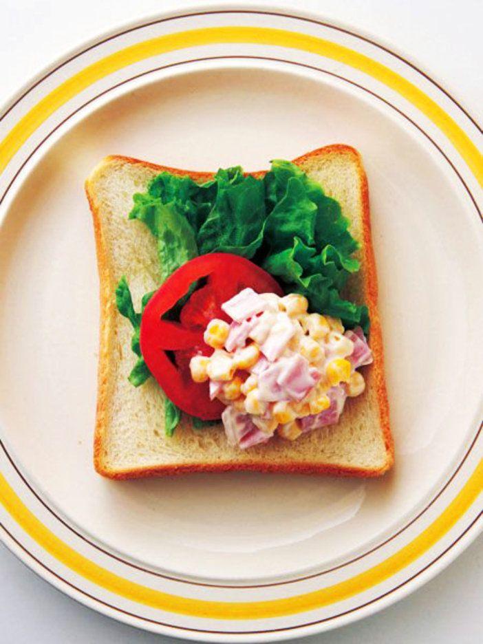 コーン缶を使って、おしゃれなカナッペ風|『ELLE a table』はおしゃれで簡単なレシピが満載!