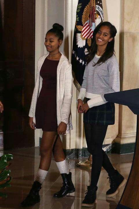 First Daughters: Sasha and Malia Obama