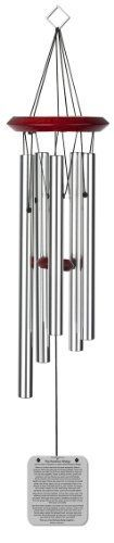 Chimesofyourlife rbcat19 Cat Rainbow Bridge Poem Pet Memorial Wind Chime 19Inch Silver ** Click the VISIT button to enter the website
