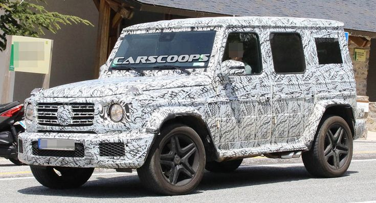 New Mercedes G-Class To Gain An Independent Front Suspension And Turbo Straight-Six Engines
