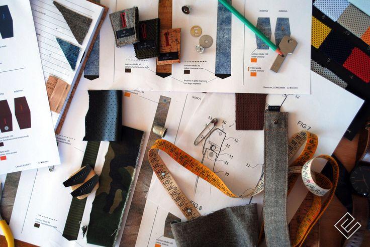 Eclepti @ work  #modular #accessory #neckwear #madeinitaly #noknots #tie #cravatta #man #style #double #side #eclectic #eclepti