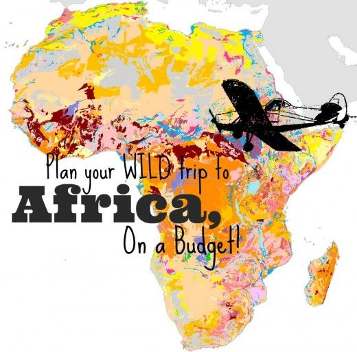 Plan your Wild Trip to Africa, On a Budget. #Africa #Travel #Adventure