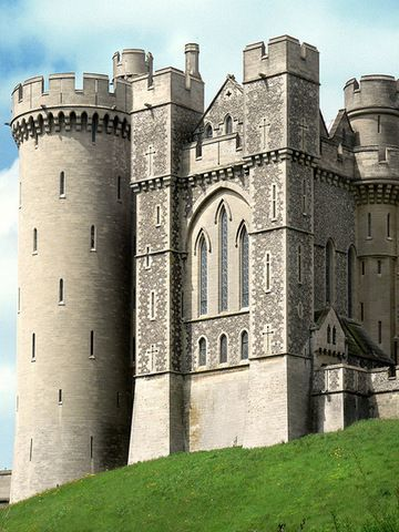 Arundel Castle, Arundel, West Sussex.