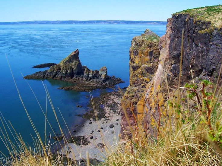 Forces of nature, Bay of Fundy, Nova Scotia.