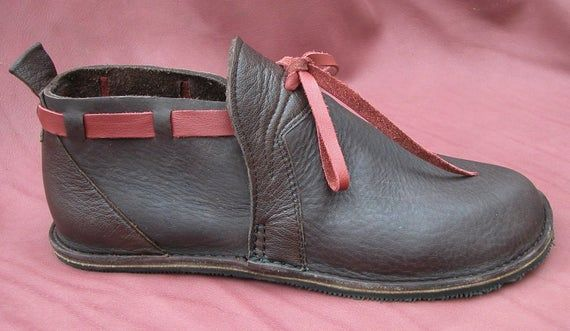 Zapatos Hechos A Mano De Cuero Chocolate Brown Red Bull Hide No