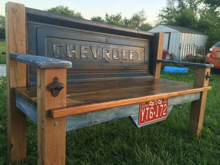 Chevrolet Tailgate Bench Outdoor Furniture Tailg