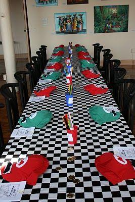 Super Mario Party Table Decorations