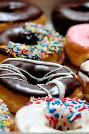 Multiple recipes for donuts.  Plenty enough to try on our mini-donut maker :)