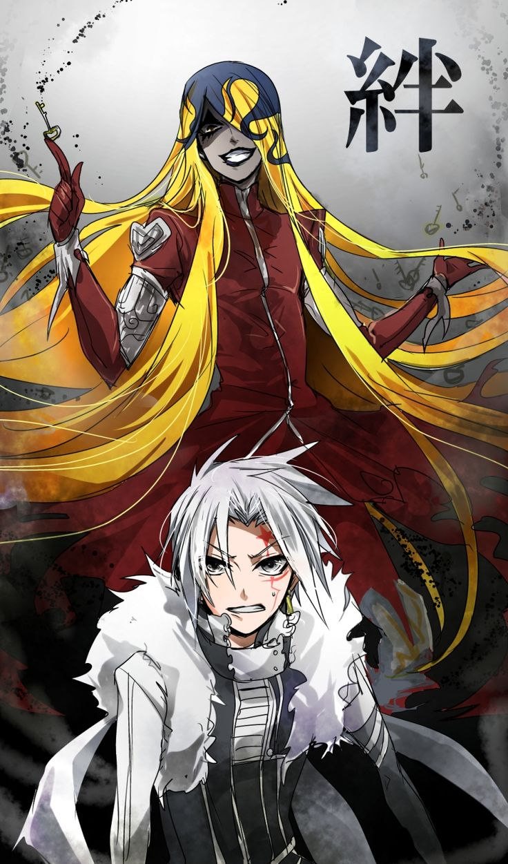 jasdevi and allen from dgm #anime