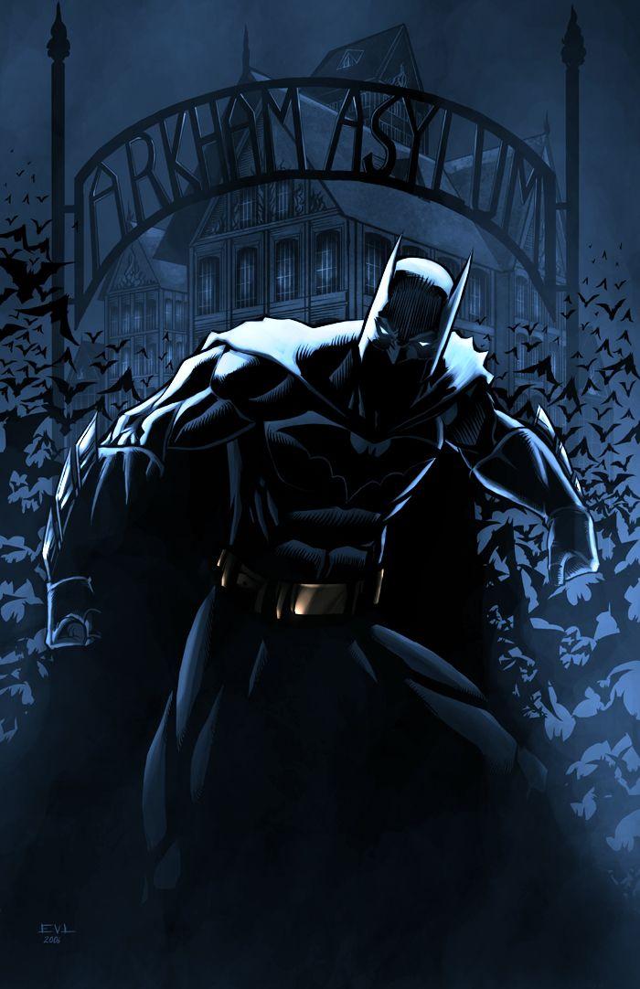 Batman Arkham Night Version by Erik Von Lehmann
