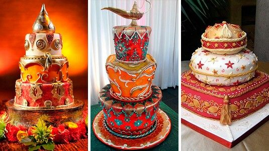Cake tema arabe sweet 16 ideas pinterest cakes for Arabian cake decoration