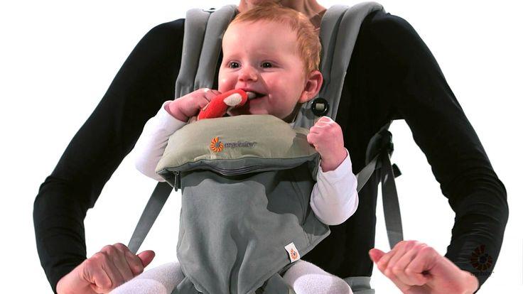 Le premier Porte-Bébé Ergobaby qui permet aux parents de porter leur bébé dans 4 positions ergonomiques et confortables : devant face à eux, devant face au monde, sur le dos et sur la hanche.