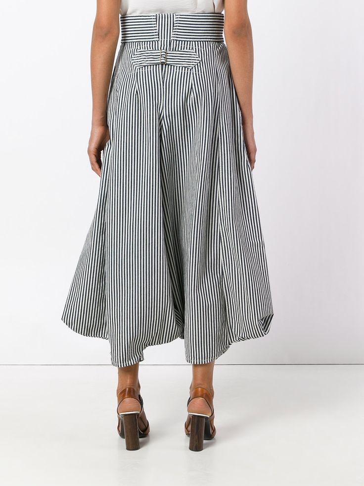 Chloé полосатые брюки-шаровары