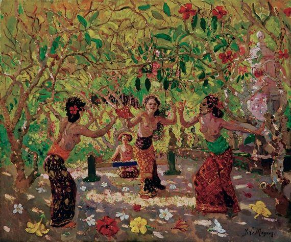 Adrien Jean Le Mayeur de Merprés - Penari Bali