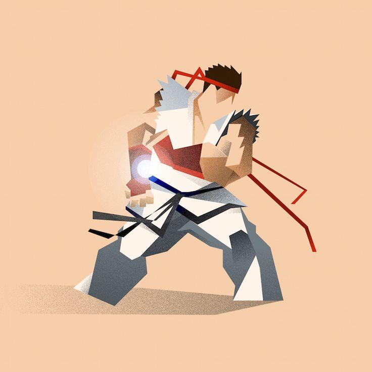Sam Markiewicz is a designer and illustrator   Street Fighter