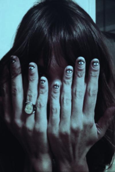 seeing eye nails. #creepitreal
