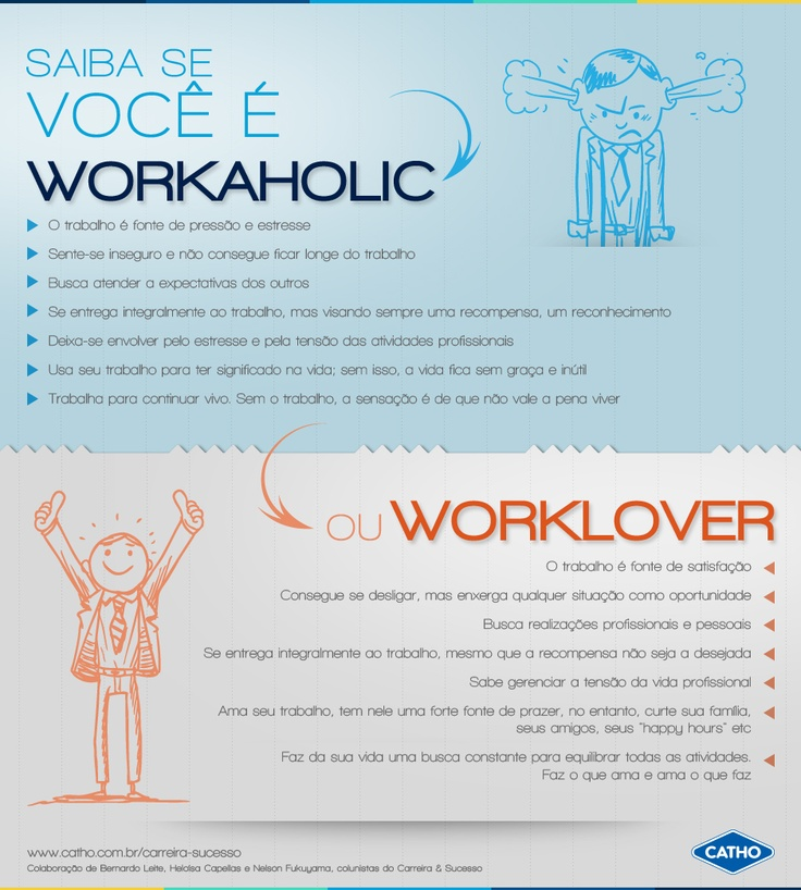 Workaholic ou Worklover?