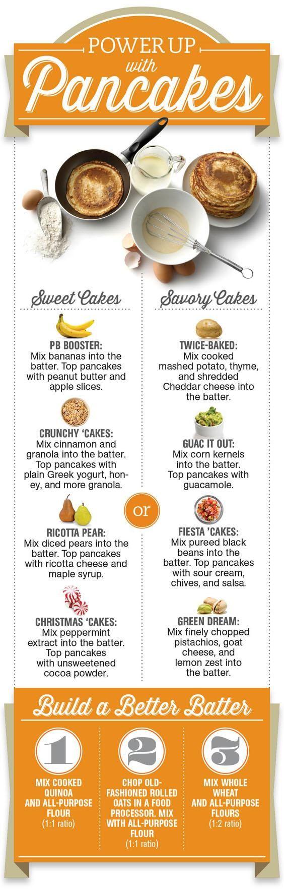 Make Healthier Pancakes