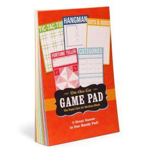 On-the-Go Game Pad by Knock Knock - knockknockstuff.com