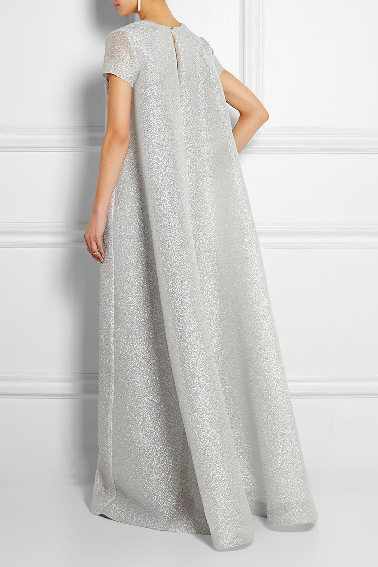 Emilia Wickstead | Robe longue du soir en cloqué Milly | NET-A-PORTER.COM