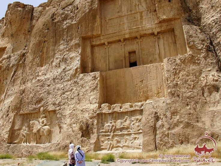 It dates from c. 1000 BCE and features very impressive tombs of Achaemenid kings (Darius I the Great, Xerxes I, Artaxerxes I, Darius II, and Artaxerxes III or Darius III). Carved in a rock face quite high above the ground, these huge tombs are called Persian Crosses for their cross-shaped facades. The site also features notable reliefs of Sassanid kings of the Neo-Persian Empire (224 - 651 CE), depicting scenes of their victorious battles and day-to-day royal life.