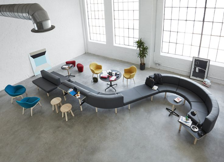 12 best Hangout images on Pinterest | Bench, Benches and Office spaces