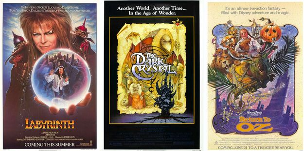 Haber quedado traumatizado por una o más de las siguientes películas: