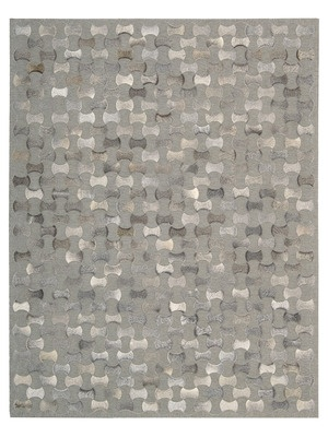 Chicago Leather and Chenille Rug by Joseph Abboud Rugs on Gilt Home