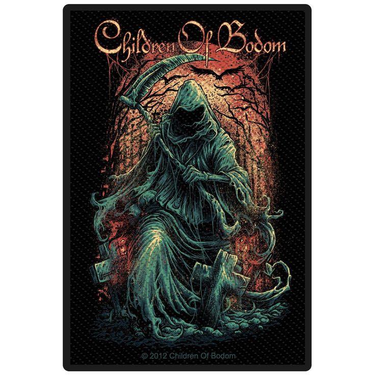 Patch Children Of Bodom »Reaper« | Dispo chez EMP | Plus de Patchs Merchandising de groupes sur notre site en ligne ✓ Prix imbattables !