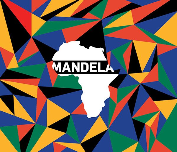 Made this Single Cover for a singer in Geneva. #Mandela #cover #artist #design #flat #graphic