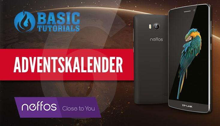 #Adventskalender: Neffos C5 Max Smartphone #Gewinnspiel