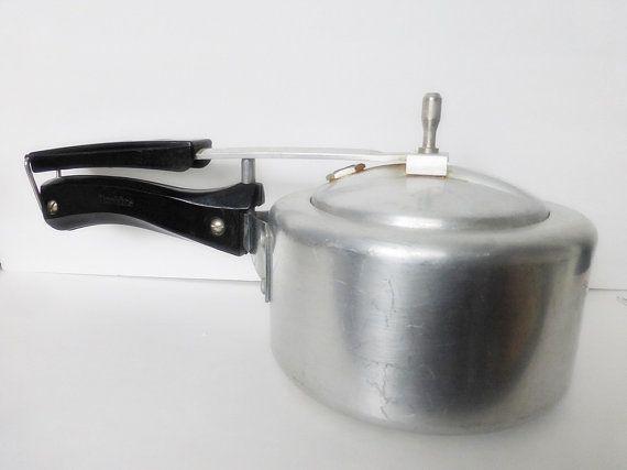 Hawkins Pressure Cooker 1.5 Liter by SimplyGailVintage on Etsy