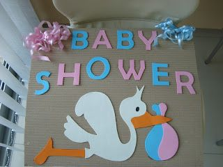 Ideas Para Cartel De Baby Shower | Manualidades Para Baby Shower Más