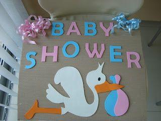 Ideas para cartel de Baby Shower | Manualidades para Baby Shower