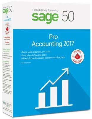 [$149.94 save 51%] Sage 50 Pro Accounting 2017 Bilingual $149.94 $299.94 Save $150.00 http://www.lavahotdeals.com/ca/cheap/sage-50-pro-accounting-2017-bilingual-149-94/183761?utm_source=pinterest&utm_medium=rss&utm_campaign=at_lavahotdeals