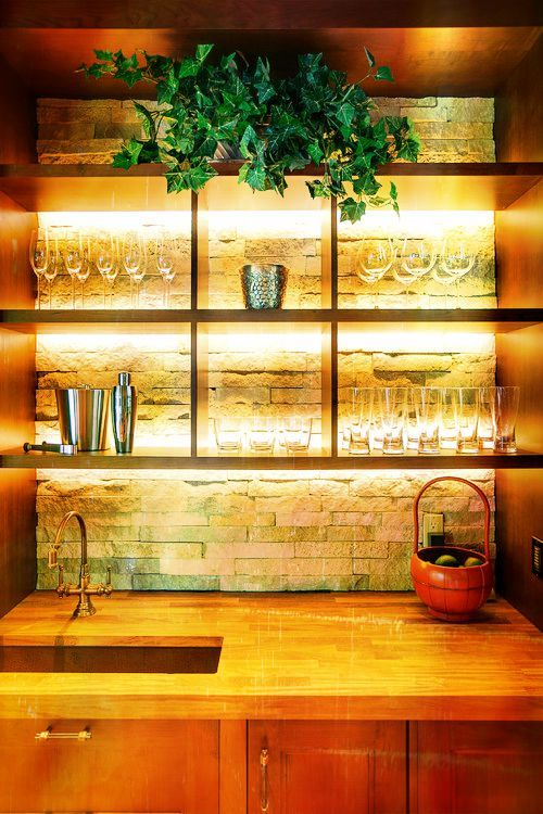 Led Shelves And Displays Can Reduce Your Carbon Footprint Delight Customers At The Same Time In 2018 Decor Pinterest Liquor Bar
