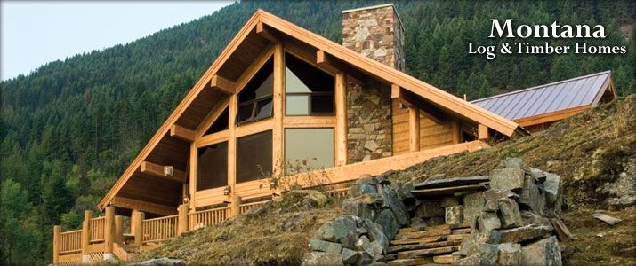 17 best images about cedar timber frame homes on for Cabin builders montana