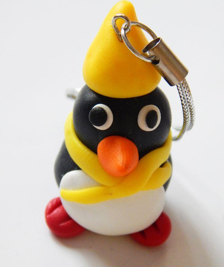 pinguin cu fes