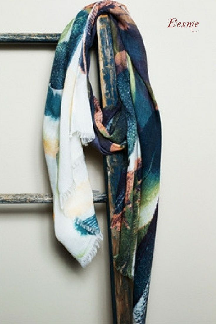 Modal Scarf - Indigo Blues by VIDA VIDA