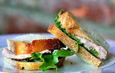 Meg Murray's liverwurst and cream cheese sandwiches always intrigued me.