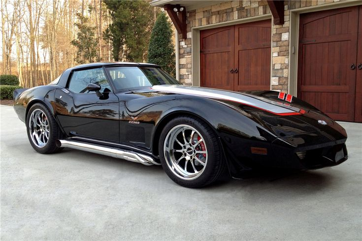 Would you pay more for a car that's owned by a motorsport legend? This Pfaff Designs-designed 1978 Corvette Stingray belonging to Rusty Wallace just sold at Barrett-Jackson for $110,000. It's powered by a 450HP Yates ZZ383 and rides on VBP high performance suspension, SSBC brakes, Michelin Pilot Super Sport tires, and 18/19-inch Forgeline ZX3P wheels finished in Chrome and equipped with the optional hidden hardware! See more at: http://www.forgeline.com/customer_gallery_view.php?cvk=1262