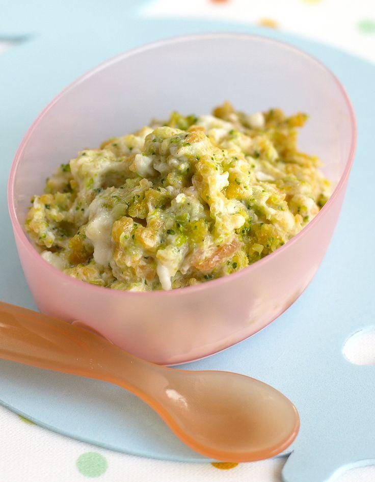 Recette Recette purée, haricots verts et poulet bébé 12 mois : Lavez et pelez la pomme de terre, coupez-la en petits morceaux. Equeutez et retirez les fils d...