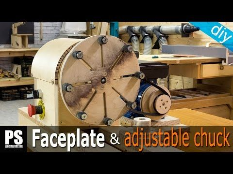 How to Make a Faceplate & Adjustable Chuck - YouTube