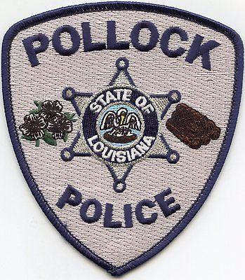 POLLOCK-LOUISIANA-POLICE-PATCH