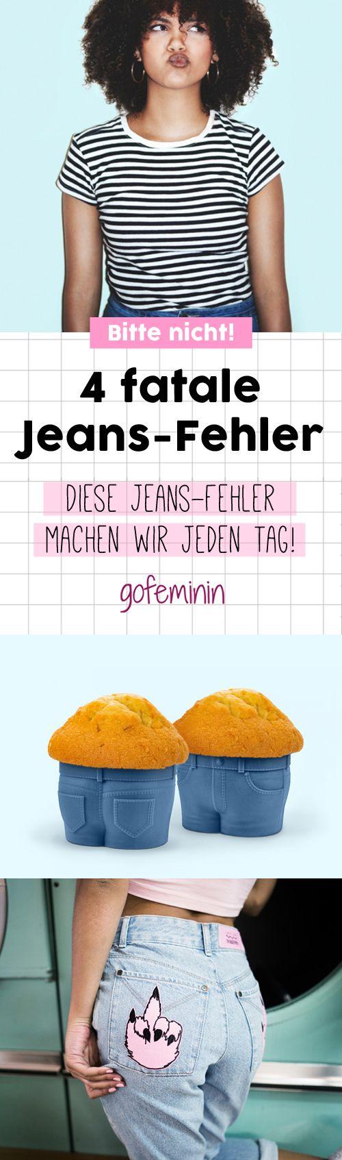 Wetten, dass ihr mindestens einen dieser Jeans-Fehler jeden Tag macht?!