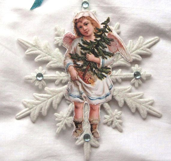 17 Best Images About Victorian Christmas Ornaments On